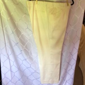 Cream Lined Trousers